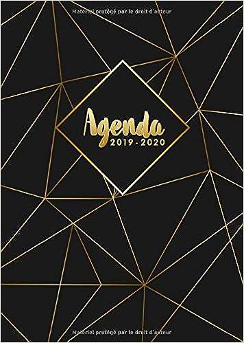 Amazon.com: Agenda 2019/2020: Agenda mi-année de Juillet ...