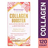 Reserveage - Collagen Booster, Supports Joint Health and Soft, Firm, and Youthful Skin to Help Reduce Wrinkles and Fine Lines with Resveratrol and Hyaluronic Acid, Gluten Free, 120 Capsule