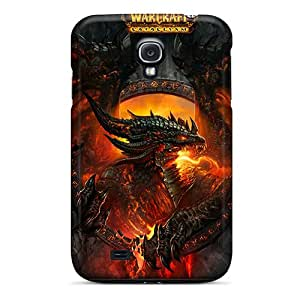 Hot Snap-on World Of Warcraft Cataclysm Hard Cover Case/ Protective Case For Galaxy S4
