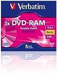 DVD-RAM 9,4 GB, 3X, type 4