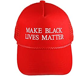 """Make Black Lives Matter"" Anti-Trump Red Campaign Hat"