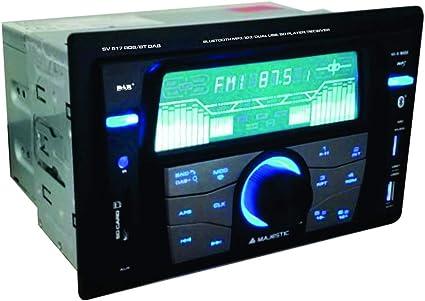 Majestic SV 517 RDS BT Dab - Autoradio FM Stereo Dab+ Bluetooth