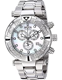 Men's 'Subaqua' Quartz Stainless Steel Casual Watch, Color:Silver-Toned (Model: 17680)