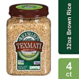 RiceSelect Texmati Rice, Basmati, Brown, 32-Ounce (Pack of 4)