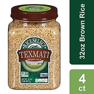 RiceSelect Texmati Brown Rice, Long Grain American Basmati