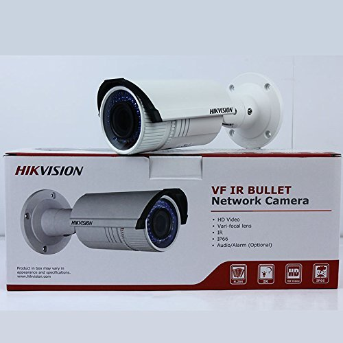 Hikvision DS-2CD2642FWD-IS 4MP WDR Vari-focal Bullet IP Camera IR 30m Audio Alarm I/O IP67 (Can Be Update 2.8 to12mm Lens)