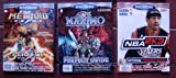 3x Versus Books MAXIMO Ghosts to Glory Vol 36 & METROID PRIME Vol 52 & NBA 2K3 Vol 46 Official Perfect Guide (Versus Books Perfect Guide)