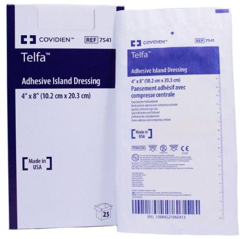 Telfa Adhesive Island Wound Dressing 4
