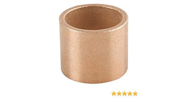 1 Oilite Bronze Bushing 3//16 id x 1//4 od x 1//4 Length Sleeve Bearing Spacer-New