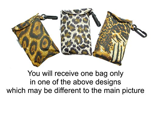 BAG Attachment Pouch With RANDOM In SHOWN Shopping COLOURS Design FROM Clip AT 2ND THE Animal Bag WILL ONE Print Fold PICTURE YOU RECEIVE IN Up nZvY0w8q