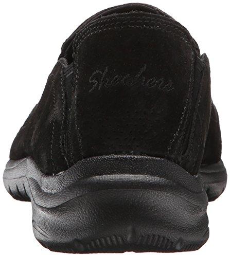 Skechers Kvinna Avslappnad Levande Chillax Mode Sneaker Svart