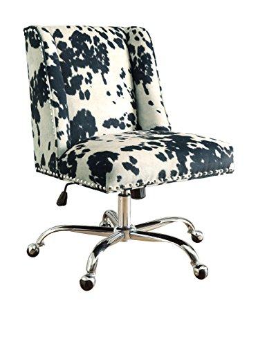 Linon Draper Executive Office Chair - Chrome (Antique Desk Executive)