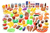 Kangaroo Deluxe Pretend Food, 120 Piece Set