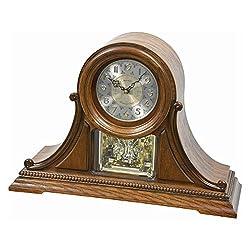 Rhythm USA WSM Newcastle Mantel Clock