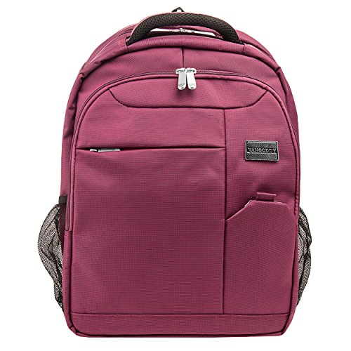 """Price comparison product image Vangoddy Exclusive Purple Germini Designer Backpack for Dell Inspiron / XPS / Alienware / Chromebook / Latitude 13.3"""" to 15.5"""" Laptops"""