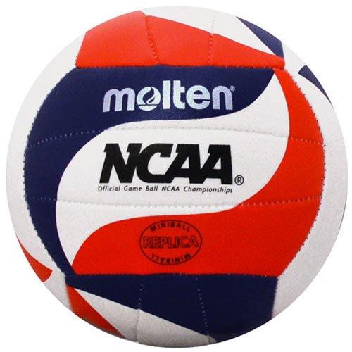 (Molten NCAA FLISTATEC Mini Volleyball, Red/White/Blue)