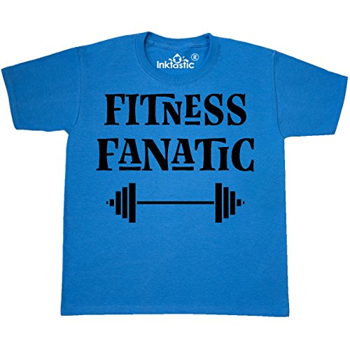 inktastic Fitness Youth T-Shirt Youth X-Large (18-20) Pacific Blue 2e1db