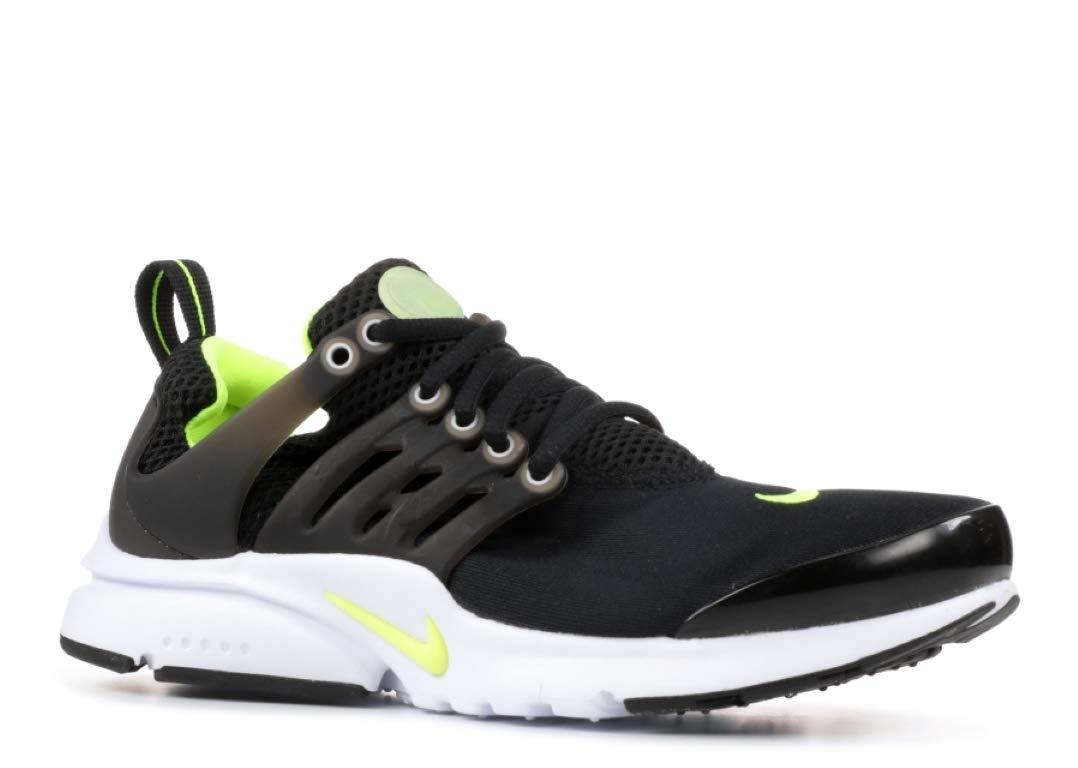 Nike Air Presto (GS) Big Kid's Shoes Black/Volt/White 833875-071 (5 M US)