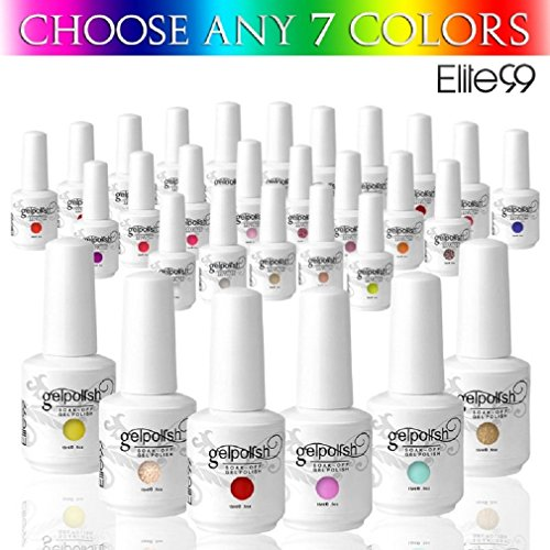 Elite99 Pick Any 7 Colors Soak Off Gel Nail Polish UV LED Co