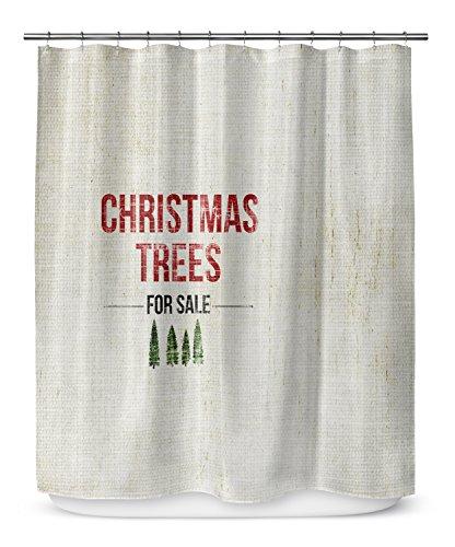 KAVKA D SCT LPLSC 70X90 TEL1040 Christmas Tree For Sale Shower Curtain