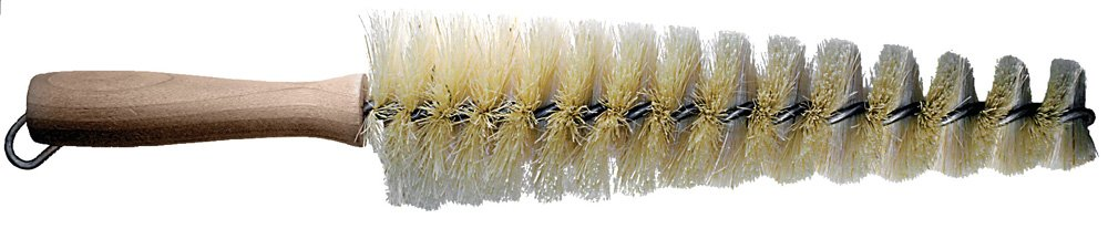 PFERD 89617 Spoke/Grill Brush, White Tampico, 2-7/8 to 1-1/2'' Diameter, 10'' Length, 15'' OAL (Pack of 12)