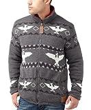 Joe Browns Men's Reversible Knit/Jacket (2 In 1)