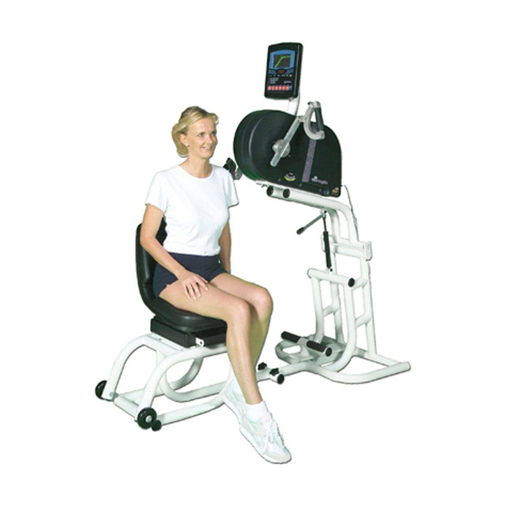 Endorphin 10-3677 380 Upper Body Ergometers On Stand with Seat, Multi-Position Grip, 2X-Heavy by Endorphin