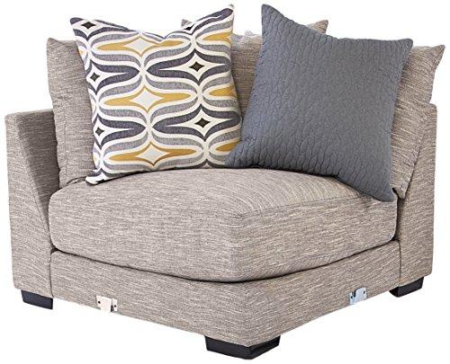 Amazon Com Franklin Furniture Barton Seating Wedge Large Fog