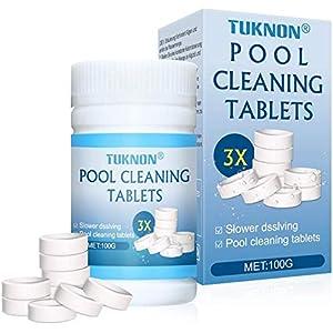 Compressa per la Pulizia della Piscina, Pool Cleaning Tablet, Magic Pool Cleaning Tablet, per Piscine, vasche…