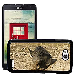 Hot Style Cell Phone PC Hard Case Cover // M00309359 Boar Nature Park Holders // LG Optimus L90 D415