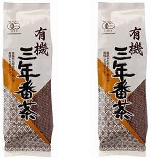 [播磨園] 茶葉 有機三年番茶 180g/有機茶葉使用 リーフ