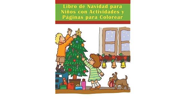 Libro de Navidad para Niños con Actividades y Páginas para Colorear ...