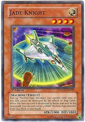 Jade Knight Yugioh Card Genuine Yu-Gi-Oh Card