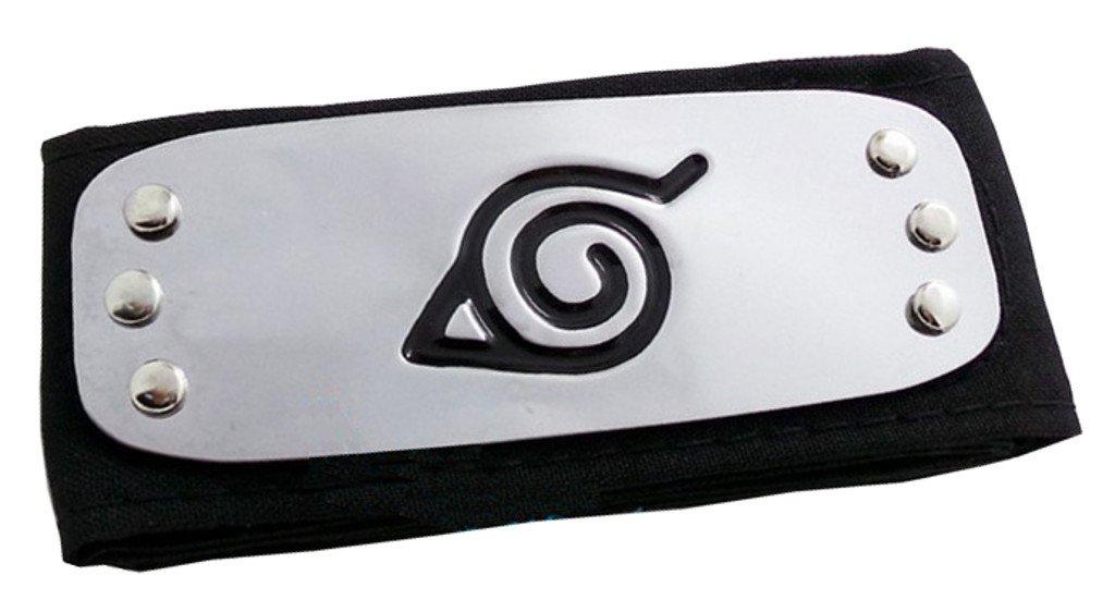 Ys&Ts Naruto Konoha Village Ninja Shinobi Cosplay Headband