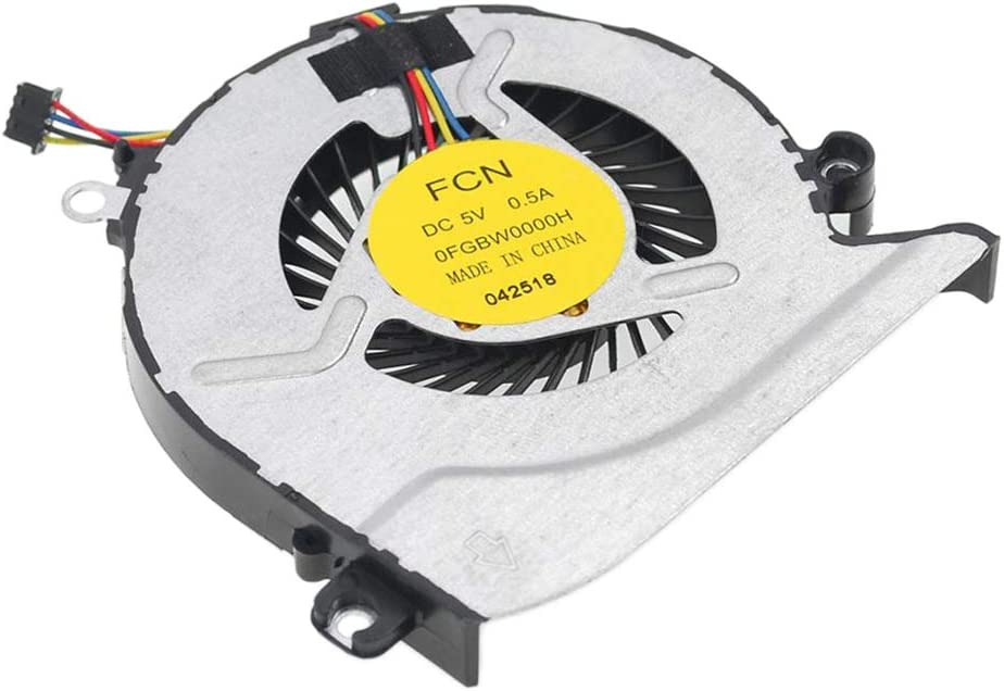 Gazechimp Replacement New Laptop CPU Cooling Fan for HP Pavilion 15-AB// 17-G //15-AB000// 15-AB100