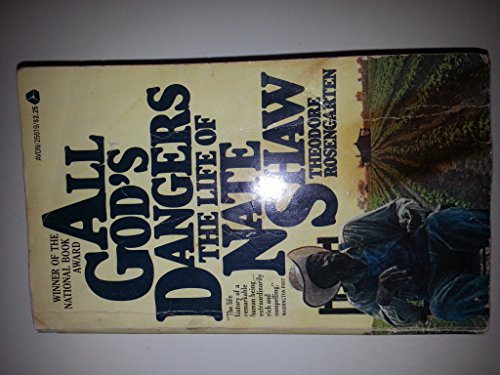 Vintage Avon Owl - All Gods Dangers:  the Life of Nate Shaw