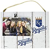 "KH Sports Fan 10""x8"" Weathered Kansas City Royals Clip It Logo Photo Frame, 10"" x 8"""