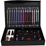 Knitter's Pride Melodies of Life''Zing'' Interchangeable Needle Set-9 Pairs / 4 Cords/Accessories