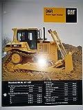 Caterpillar D6R Track-Type Crawler Tractor Sales Brochure
