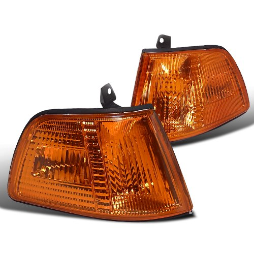 Spec-D Tuning LC-CV903AM-RS Honda Civic 2/3Dr Hatchback Amber Front Corner Signal Lights