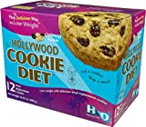 Hollywood Cookie Diet Oatmeal Raisin (12 Boxes) Save 58% Off MSRP