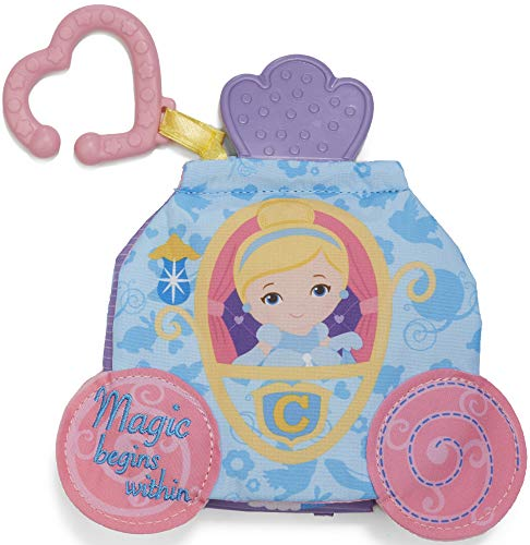 Kids Preferred Disney Princess Cinderella On The Go Soft Teether Book, 5