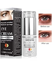 Crème pour les yeux,Crème Yeux,Crème Pour les Yeux pour les Cernes,Eye Cream,élimine les rides,cernes,cercles noirs,les poches et les rides 30g