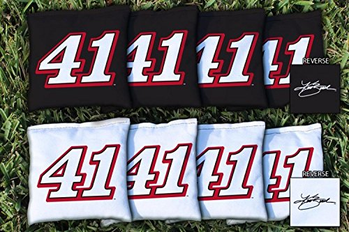Victory Tailgate 8 NASCAR Kurt Busch #41 Regulation Corn Filled Cornhole Bags by Victory Tailgate