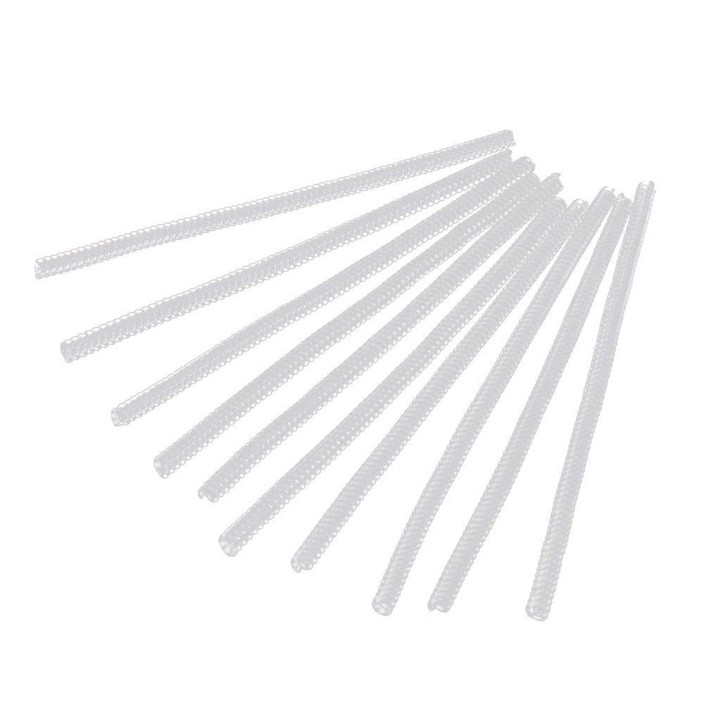 Fangfeen Ajusteur 12pcs Taille de l'anneau en Plastique Insert Garde Tightener Ré ducteur Redimensionnement Fitter Outils