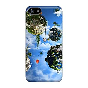 Durable Case For The Iphone 5/5s- Eco-friendly Retail Packaging(planets Celebrations)
