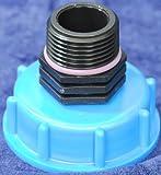 AM135 Auslauf IBC-Container-Zubehör-Regenwasser-Tank-Adapter-Fitting-Kanister