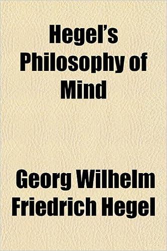 Book Hegel's Philosophy of Mind