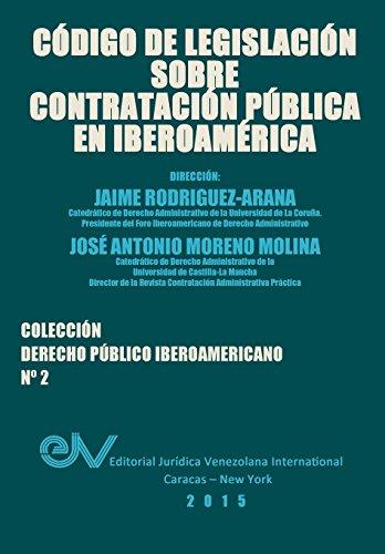 Descargar Libro CÓdigo De LegislaciÓn Sobre ContrataciÓn PÚblica Jaime RodrÍguez-arana
