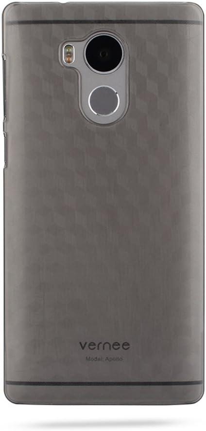 T&R Vernee Apollo Funda, Hard Plastic PC Back Cover Case Carcasa ...